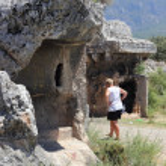 Tombs of Fethiye — Stock Photo #29465191