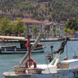 Fishing boats at Fethiye — Stock Photo