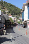 Old traditional Turkish street — Stock Photo