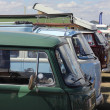 Stock Photo: Classic old campers