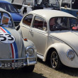 Classic old beetle cars — Stock Photo