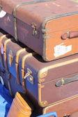 Retro suitcases — Stock Photo