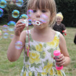 Blowing bubbles — Stockfoto #31816231