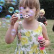 Blowing bubbles — Stock Photo #31816231