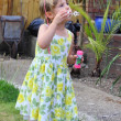Blowing bubbles — Stockfoto #31816849
