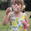 Blowing bubbles — Foto de stock #31836459