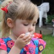 Blowing bubbles — Stock Photo #31850499