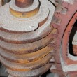 Mechanical worm gearing — Stock Photo
