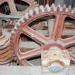 Stock Photo: Mechanical worm gearing