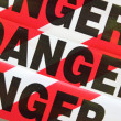 Danger — Stock Photo #36932833