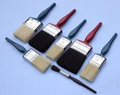Decorators paintbrushes — Photo