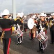 Stock Video: Royal marines marching band