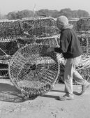 Lobster and crab pots — Stock Photo