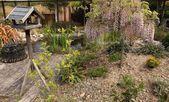 английский сад — Стоковое фото