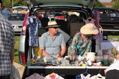 Carboot sale — Stock Photo