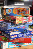 Boxed games — Stock Photo
