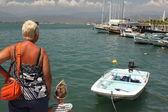 Barche da pesca a fethiye — Foto Stock