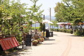 Calis promenade in Turkey — Stock Photo