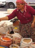 Fresh market produce of spices — Stock Photo