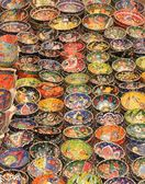 Turkish ceramics and collectables — Zdjęcie stockowe