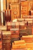 Turkish handmade boxes — Stock Photo