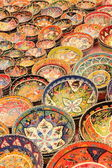 Turkish ceramics and collectables — Stock Photo