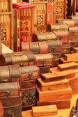 Turcas cajas hechas a mano — Foto de Stock