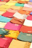 Fake scarfs — Stock Photo