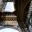 Close-up of Eiffel tower - Stock Photo