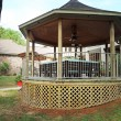 Stock Photo: Country Gazebo
