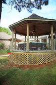 Country Gazebo — Stock Photo