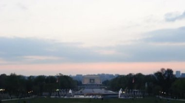 Lincoln Memorial Timelapse — Stock Video