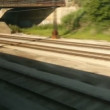 Train Passing — Wideo stockowe #30283387