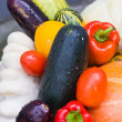 Stock Photo: Many ripe vegetables