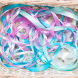 Stock Photo: Multicolored gift ribbons