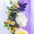 Stock Photo: Decoration of wedding flowers