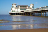 Weston-super-Mare Grand Pier — Stock Photo