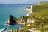 Durdle Door coastline Dorset — Stock Photo