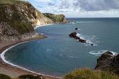 Bay next to Durdle Door Dorset — Stock Photo