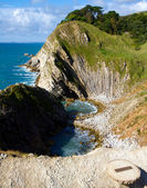 Stair Hole next to Lulworth Cove Dorset — Stock Photo