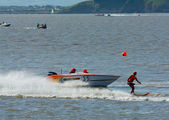 British Waterski Racing event — Stock Photo