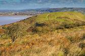 Brean Down in Somerset in autumn — Stock Photo