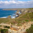 Stock Photo: Carnewas near Newquay North Cornwall England UK
