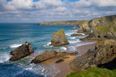 Carnewas near Newquay North Cornwall England UK — Stock Photo