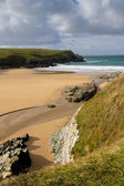 Porth Joke beach near Newquay Cornwall — Stock Photo