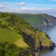 Coast of Great Britain North Devon — Stock Photo