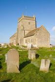 Norman Church of St Nicholas Uphill Weston-super-mare Somerset — Stock Photo