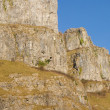 Limestone cliffs Cheddar Gorge Somerset England - Stock Photo