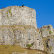 Limestone rock Cheddar Gorge Somerset England - Stock Photo