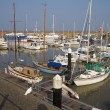 Stock Photo: Watchet harbour Somerset England